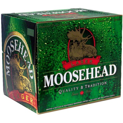 Moosehead 12 Pack Bottles $10.99