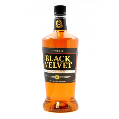Black Velvet Canadian Whisky 1.75L $12.99