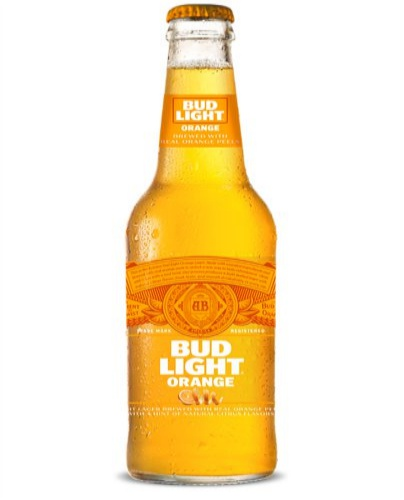 Bud Light Orange-6 Pack Bottles $8.99-12 Pack Bottles $14.99