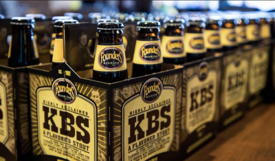 Founders KBS-4 Pack 12 oz Bottles-$24.99