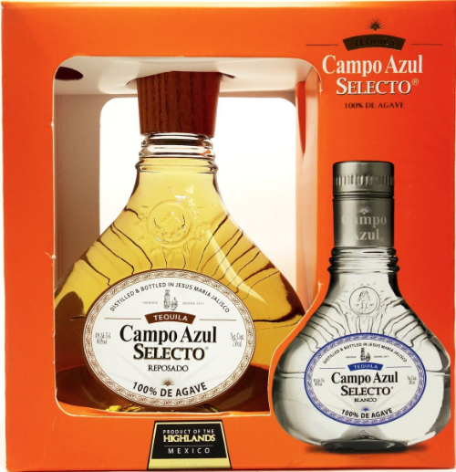 Campo Azul Reposado-$24.99-750ml