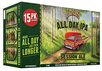 Founders All Day IPA-15 pack 12oz cans-$14.99