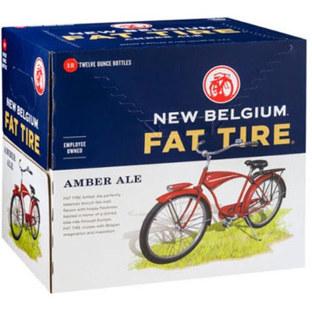 New Belgium Brewing Fat Tire-12pk 12oz bottles-$13.99