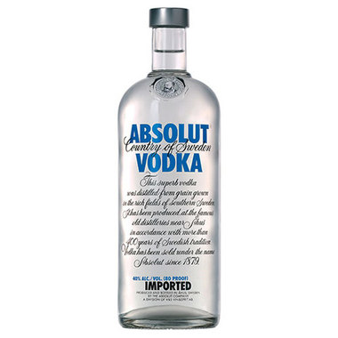 Absolut Vodka-750ml-$9.99