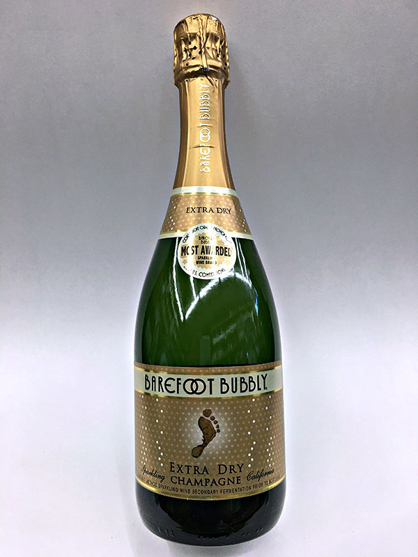 Barefoot Bubbly Sparkling All Varieties-750ml-$7.99