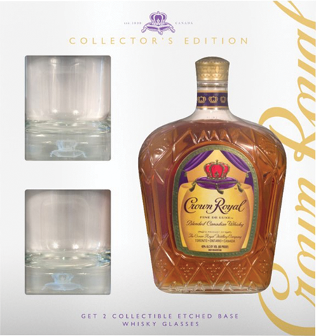 Crown Royal Gift Set-750ml-$25.99