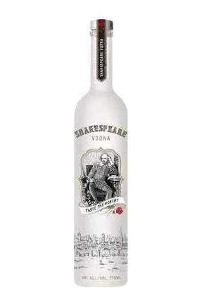 Shakespeare Vodka-750ml-$9.99